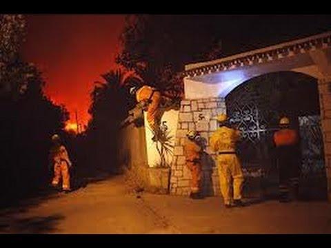 Incendio Málaga Agosto 2012