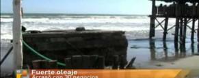 Desastre Natural en Playa Las Glorias, Guasaves (Sinaloa)