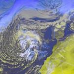 Ciclón Tropical en las Islas Canarias y Azores 12-2013