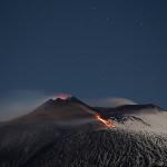 La actividad volcánica del Etna en diciembre de 2013