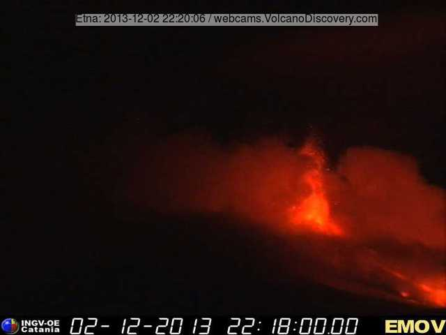 actividad volcánica del etna 3