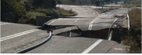 Deslizamientos de tierra al sur de Italia