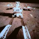 Yutu, un robot chino en la Luna