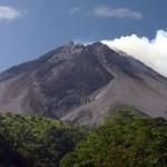 Volcán Marapi (Sumatra, Indonesia) en 2012 y 2013