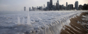 Vórtice polar, temporal en Estados Unidos