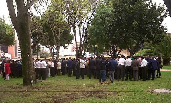 Ejercicio de evacuación de grandes ciudades en Colombia-1