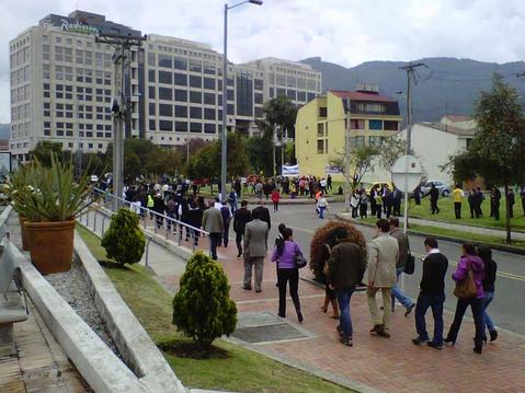 Ejercicio de evacuación de grandes ciudades en Colombia-2