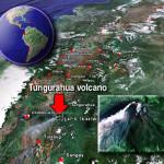 Nueva erupción del Volcán Tungurahua 2014