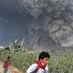 Erupción del Volcán Sinabung, Indonesia