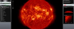 El Sol en 3D