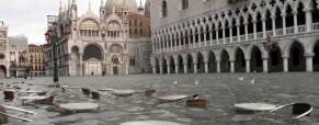 Acqua alta, inundaciones en Venecia