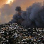 Incendio en Valparaíso, Chile