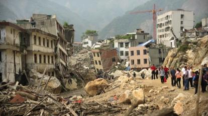 Terremoto Sichuan 2013
