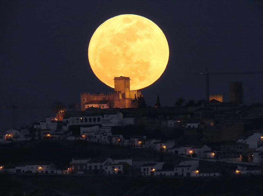 Superluna en Cordoba