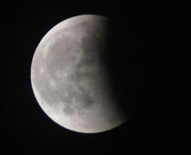 eclipse Luna azul